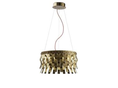 Brass pendant lamp VERONICA | Pendant lamp