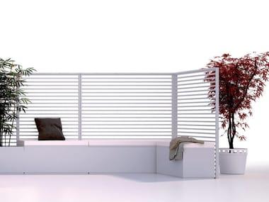 Aluminium vertical gardening trellis SHAPE | Vertical gardening trellis