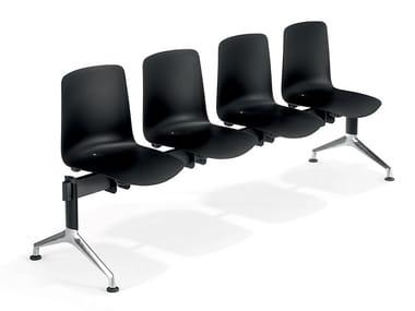 Polypropylene beam seating VESPER GP02