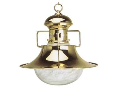 Direct-indirect light brass chandelier VESPUCCI 03/3002 | Brass chandelier