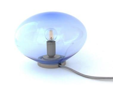 Direct light handmade blown glass table lamp VESTA