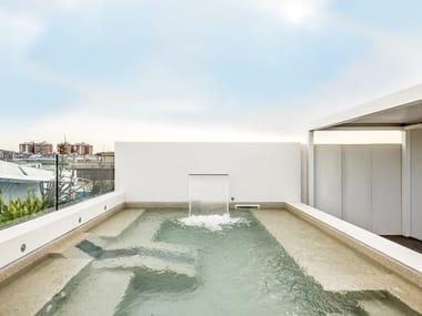 Outdoor Lapitec® wall tiles VESUVIO - ARTICO