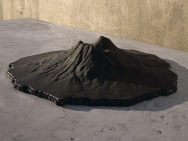 Scultura in basalto VESUVIO