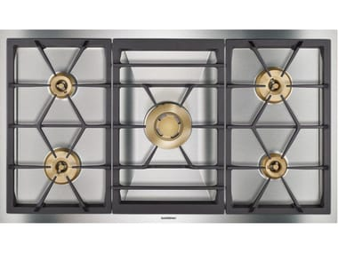 Gas built-in stainless steel hob VG491211   Hob