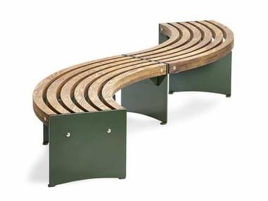 Modular Bench VIA | Curved Bench