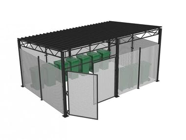 Multifunction metal porch VIA VERDE B