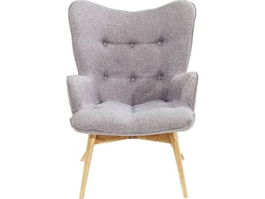 Polyester wingchair high-back VICKY