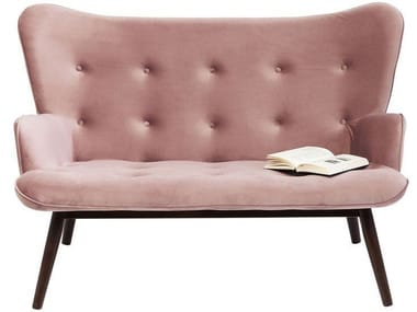 High-back polyester small sofa VICKY | Small sofa