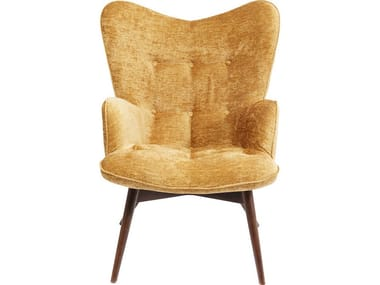 Polyester wingchair high-back VICKY WILSON