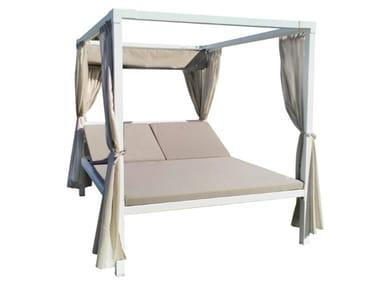 Canopy aluminium garden bed VICTOR