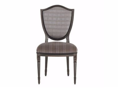Upholstered fabric chair VICTORIA | Chair