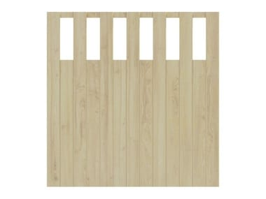 Wooden shade panel VICTORIA