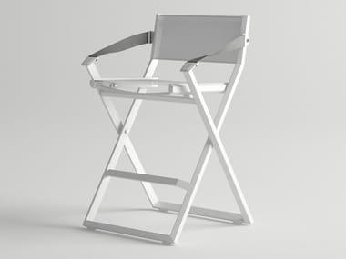 High folding garden stool VICTUS | High stool