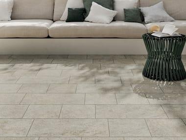 Pavimento per esterni in gres porcellanato effetto pietra VIE DELLA PIETRA FALESIA