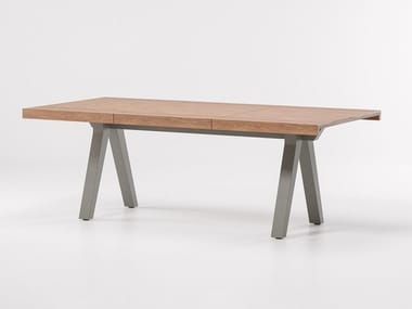 Extending teak table VIEQUES | Extending table