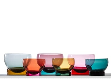 Blown glass Bowls set VIEW
