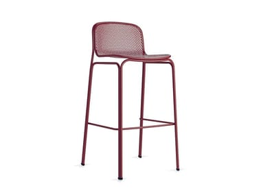 High stackable wire mesh stool VILLA 3