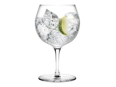Set of 2 Gin Tonic Glasses VINTAGE GIN TONIC