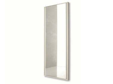 Freestanding rectangular framed mirror VIP | Freestanding mirror