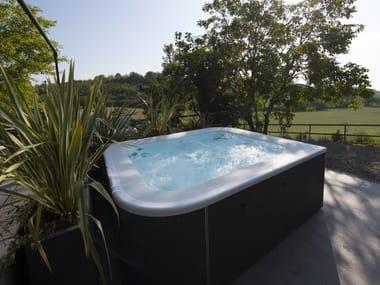 Above-ground hydromassage hot tub 7-seats VIRTUS PRO