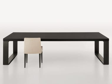 Rectangular wooden table VITTORIO