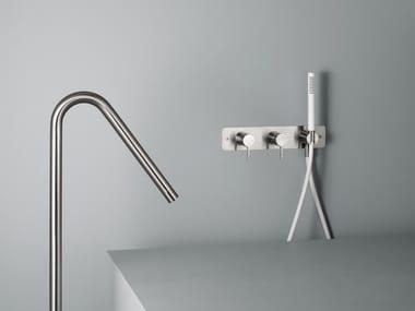 Wall-mounted bathtub mixer VOLCANO 36 43