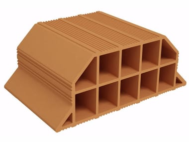Hollow clay floor slab block Volterrana SV160