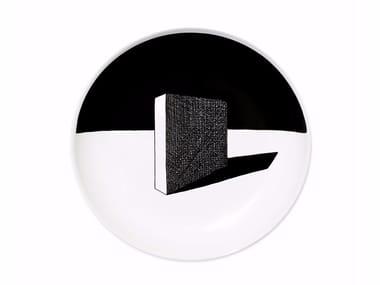 Ceramic dinner plate VOLUME