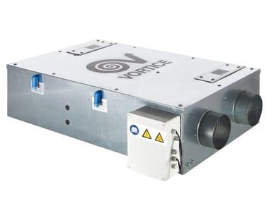 Unidade de recuperação de calor para teto falso VORT HRI 200 FLAT
