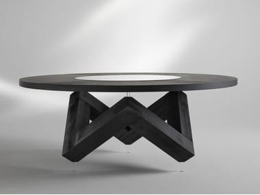 Tavolo rotondo in legno W | Tavolo in legno
