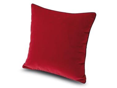 Cuscino in velluto di cotone tinta unita WAILUA