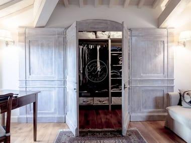 Cabina armadio in legno massello su misura Cabina armadio 7