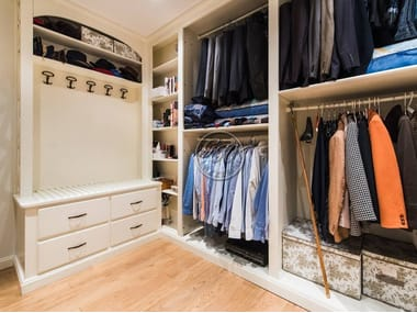 Custom Solid Wood Walk In Wardrobe Walk In Closet 8