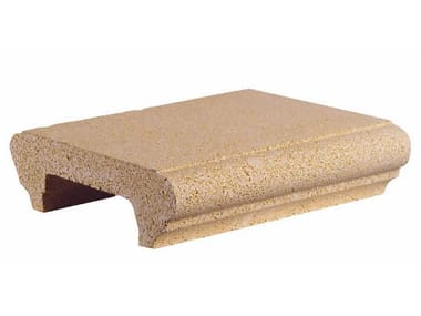 Marble grit wall coping Wall coping