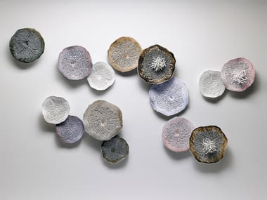 Ceramic wall decor item PORIFERA | Wall decor item