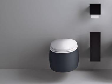 Wall-hung ceramic toilet PEAR 2 | Toilet