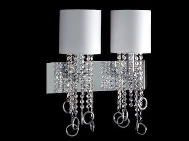 Wall lamp with crystals LISA | Wall lamp