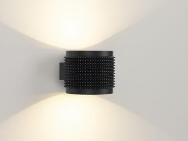 Applique a LED a luce diretta e indiretta PUNK | Lampada da parete