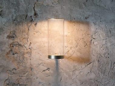 LED glass wall lamp FATUA | Wall lamp