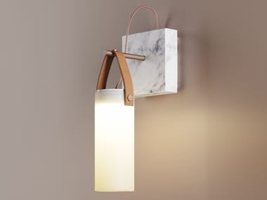 Blown glass wall lamp GALERIE   Wall lamp