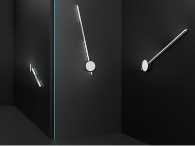 Lampada da parete a LED fatta a mano in alluminio VARA | Lampada da parete
