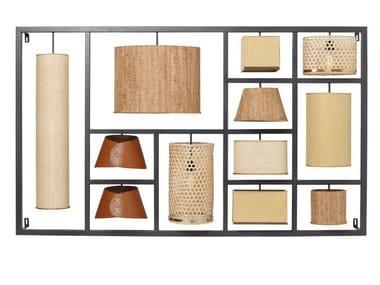 Lampada da parete a luce diretta e indiretta PARECCHI NATURE | Lampada da parete
