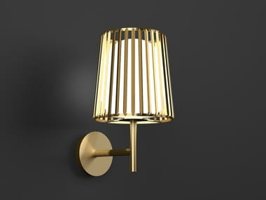 LED direct light wall lamp with fixed arm JULIA | Wall lamp