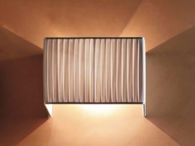 Fabric wall light PLISSÈ | Wall light