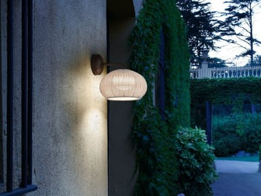LED polyethylene wall lamp GAROTA A/01 OUTDOOR
