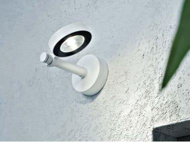 Lampada da parete a LED a luce diretta orientabile FROG | Lampada da parete