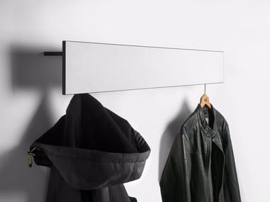 Wall-mounted HPL coat rack Wall-mounted coat rack