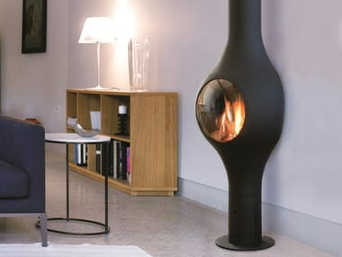Gas wall-mounted fireplace BOAFOCUS | Wall-mounted fireplace