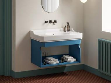 Mueble bajo lavabo simple suspendido NOSTALGIA | Mueble bajo lavabo suspendido