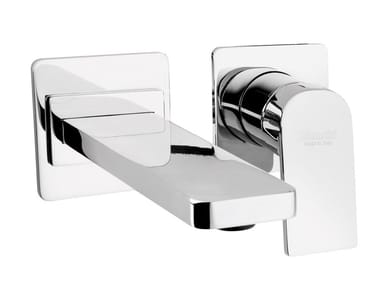 Wall-mounted single handle washbasin mixer CITY   Wall-mounted washbasin mixer